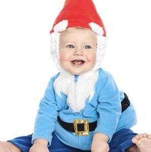 Carters Gnome costume NWT